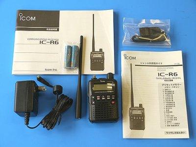 画像3: アイコム 広帯域受信機 IC-R6 【特別仕様機】 周波数大量インストール済み!