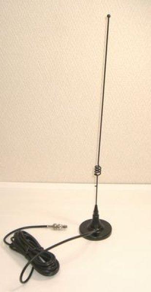 画像1: M型コネクター付マグネットアンテナ アマバンド送信可 (1)