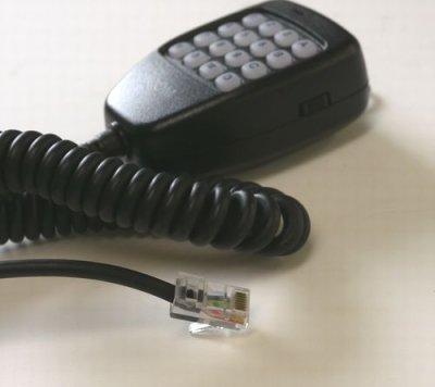 画像1: 【無線機用社外品マイク】 アイコム モジュラータイプ